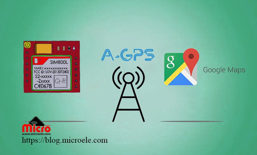 موقعیت یابی با ماژول sim800 بدون استفاده از GPS