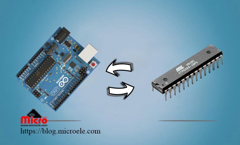 تبدیل ATMEGA8 به آردوینو